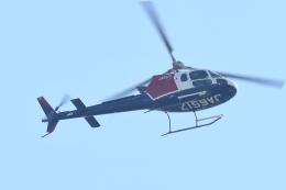 500さんが、自宅上空で撮影した朝日航洋 AS350B3e Ecureuil (H125)の航空フォト(飛行機 写真・画像)