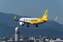 チーフさんが、福岡空港で撮影したピーチ A320-214の航空フォト(飛行機 写真・画像)