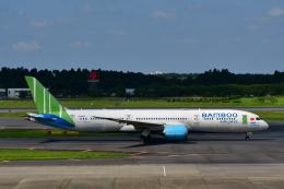 チョロ太さんが、成田国際空港で撮影したバンブー・エアウェイズ 787-9の航空フォト(飛行機 写真・画像)