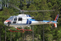 MOR1(新アカウント)さんが、日本で撮影した中日本航空 AS350B3 Ecureuilの航空フォト(飛行機 写真・画像)