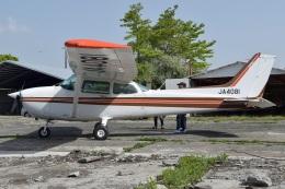 MOR1(新アカウント)さんが、阿蘇観光牧場飛行場で撮影した日本個人所有 172P Skyhawkの航空フォト(飛行機 写真・画像)