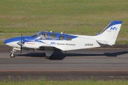 MOR1(新アカウント)さんが、大分空港で撮影した本田航空 G58 Baronの航空フォト(飛行機 写真・画像)