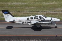 MOR1(新アカウント)さんが、大分空港で撮影した本田航空 Baron G58の航空フォト(飛行機 写真・画像)