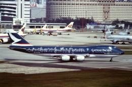 Yossy96さんが、啓徳空港で撮影したキャセイパシフィック航空 747-267Bの航空フォト(飛行機 写真・画像)