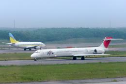 Y-Kenzoさんが、新千歳空港で撮影した日本航空 MD-90-30の航空フォト(飛行機 写真・画像)