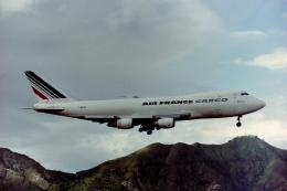 Yossy96さんが、啓徳空港で撮影したエールフランス航空 747-228F/SCDの航空フォト(飛行機 写真・画像)