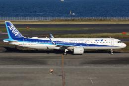 ズイ₍₍ง˘ω˘ว⁾⁾ズイさんが、羽田空港で撮影した全日空 A321-272Nの航空フォト(飛行機 写真・画像)