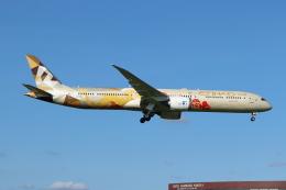 フレッシュマリオさんが、成田国際空港で撮影したエティハド航空 787-10の航空フォト(飛行機 写真・画像)