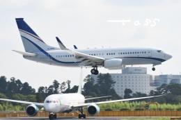 tassさんが、成田国際空港で撮影した現代自動車 737-7GE(BBJ)の航空フォト(飛行機 写真・画像)