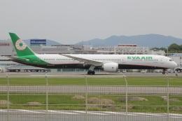 MOR1(新アカウント)さんが、福岡空港で撮影したエバー航空 787-10の航空フォト(飛行機 写真・画像)
