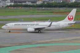 MOR1(新アカウント)さんが、福岡空港で撮影した日本トランスオーシャン航空 737-846の航空フォト(飛行機 写真・画像)