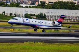 rokko2000さんが、伊丹空港で撮影したアイベックスエアラインズ CL-600-2C10(CRJ-702)の航空フォト(飛行機 写真・画像)