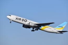 hachiさんが、新千歳空港で撮影したAIR DO 767-381の航空フォト(飛行機 写真・画像)