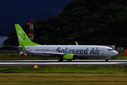 M.airphotoさんが、長崎空港で撮影したソラシド エア 737-81Dの航空フォト(飛行機 写真・画像)
