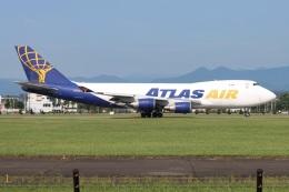 シン・マリオ先輩さんが、横田基地で撮影したアトラス航空 747-47UF/SCDの航空フォト(飛行機 写真・画像)
