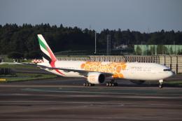 天王寺王子さんが、成田国際空港で撮影したエミレーツ航空 777-31H/ERの航空フォト(飛行機 写真・画像)