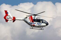 ズイ₍₍ง˘ω˘ว⁾⁾ズイさんが、松山空港で撮影した中日本航空 EC135P2の航空フォト(飛行機 写真・画像)