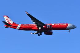 Deepさんが、成田国際空港で撮影したエアアジア・エックス A330-343Xの航空フォト(飛行機 写真・画像)