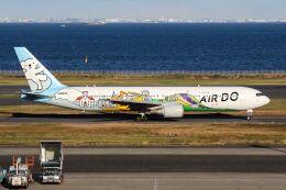ズイ₍₍ง˘ω˘ว⁾⁾ズイさんが、羽田空港で撮影したAIR DO 767-381の航空フォト(飛行機 写真・画像)