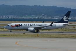 Deepさんが、関西国際空港で撮影した山東航空 737-85Nの航空フォト(飛行機 写真・画像)