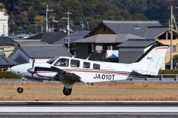 ズイ₍₍ง˘ω˘ว⁾⁾ズイさんが、松山空港で撮影した日本法人所有 G58 Baronの航空フォト(飛行機 写真・画像)