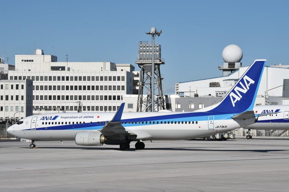 B747‐400さんの全日空 Boeing 737-800 (JA73AN) 航空フォト