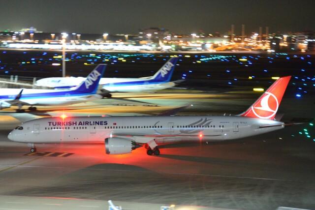 B747‐400さんが、羽田空港で撮影したターキッシュ・エアラインズ 787-9の航空フォト(飛行機 写真・画像)