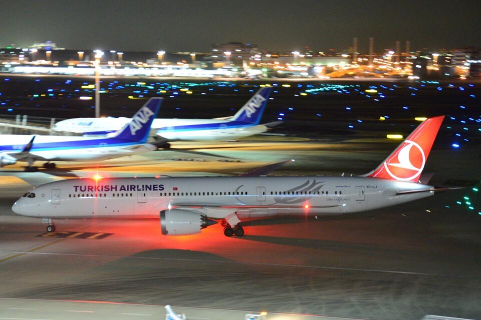 B747‐400さんのターキッシュ・エアラインズ Boeing 787-9 (TC-LLJ) 航空フォト