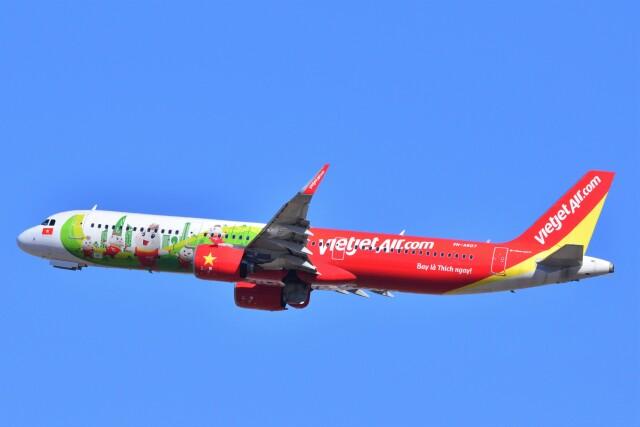 2021年01月19日に撮影されたベトジェットエアの航空機写真
