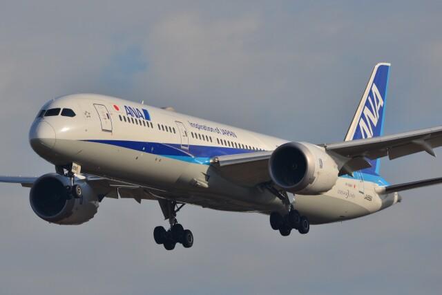 B747‐400さんが、成田国際空港で撮影した全日空 787-9の航空フォト(飛行機 写真・画像)
