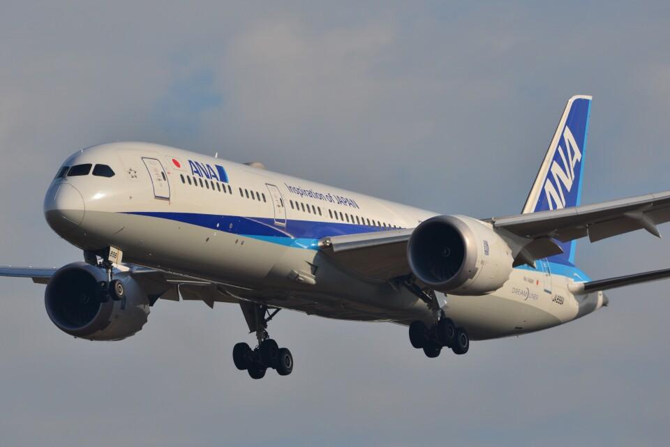 B747‐400さんの全日空 Boeing 787-9 (JA896A) 航空フォト