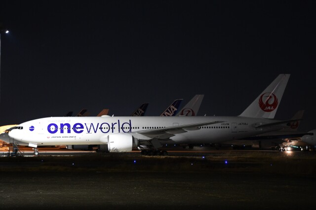 B747‐400さんが、羽田空港で撮影した日本航空 777-246/ERの航空フォト(飛行機 写真・画像)