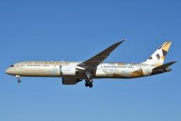 B747‐400さんが、成田国際空港で撮影したエティハド航空 787-9の航空フォト(飛行機 写真・画像)