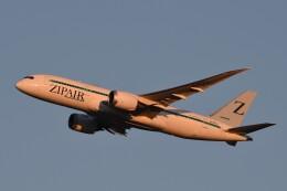 B747‐400さんが、成田国際空港で撮影したZIPAIR 787-8 Dreamlinerの航空フォト(飛行機 写真・画像)