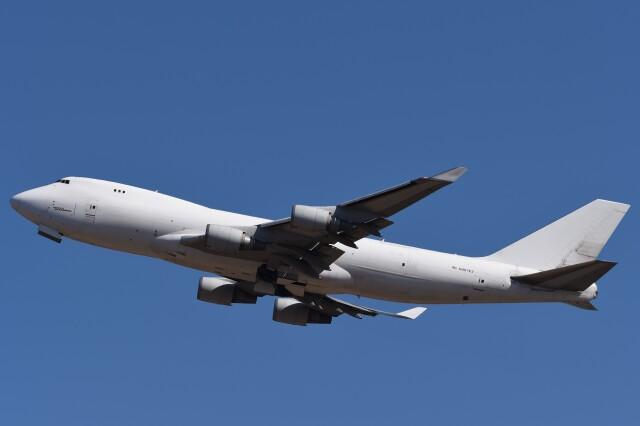 B747‐400さんが、成田国際空港で撮影したアトラス航空 747-4KZF/SCDの航空フォト(飛行機 写真・画像)