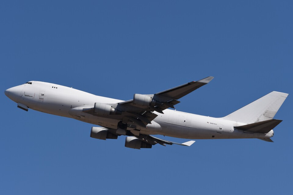 B747‐400さんのアトラス航空 Boeing 747-400 (N407KZ) 航空フォト