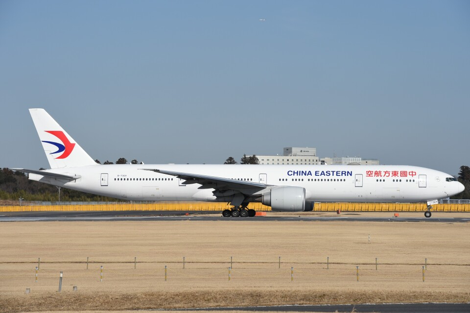 B747‐400さんの中国東方航空 Boeing 777-300 (B-7369) 航空フォト