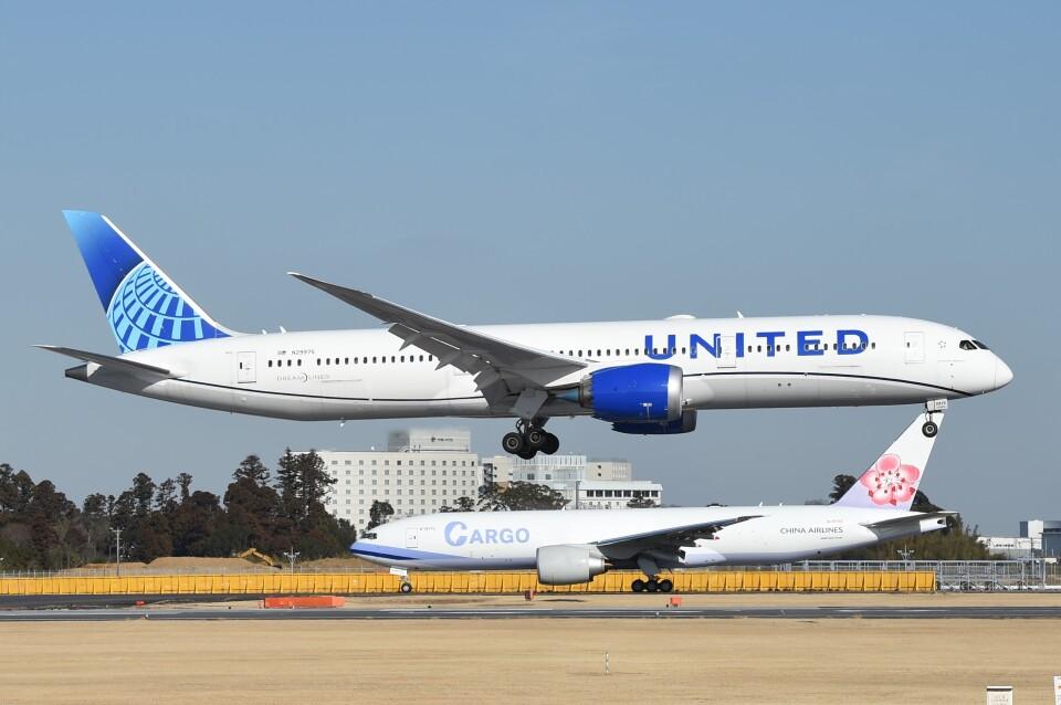 B747‐400さんのユナイテッド航空 Boeing 787-9 (N29975) 航空フォト