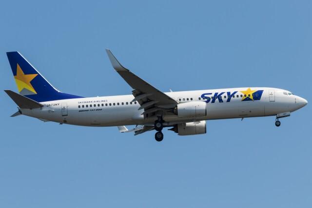 walker2000さんが、羽田空港で撮影したスカイマーク 737-86Nの航空フォト(飛行機 写真・画像)