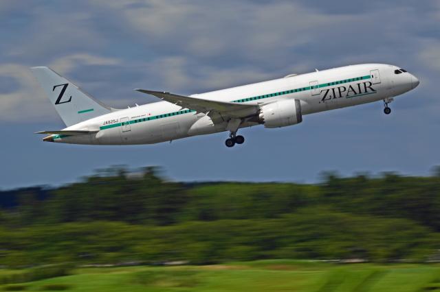 Souma2005さんが、成田国際空港で撮影したZIPAIR 787-8 Dreamlinerの航空フォト(飛行機 写真・画像)