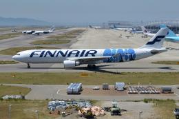 Deepさんが、関西国際空港で撮影したフィンエアー A330-302Xの航空フォト(飛行機 写真・画像)
