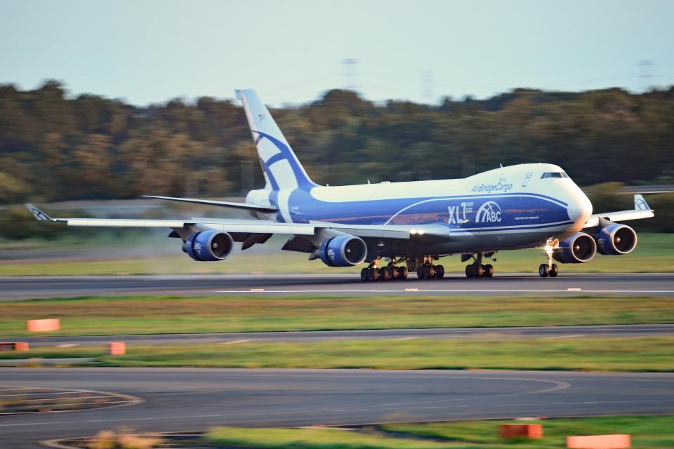 Souma2005さんのエアブリッジ・カーゴ・エアラインズ Boeing 747-400 (VP-BIG) 航空フォト