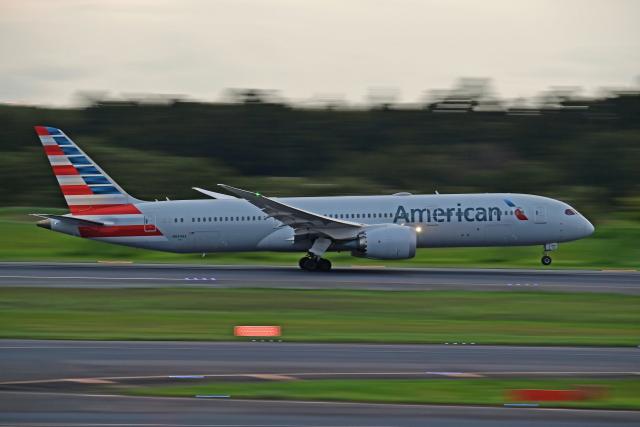 Souma2005さんが、成田国際空港で撮影したアメリカン航空 787-9の航空フォト(飛行機 写真・画像)