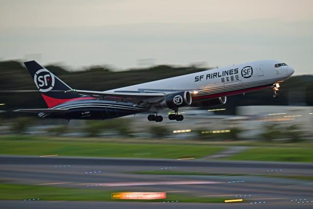Souma2005さんが、成田国際空港で撮影したSF エアラインズ 767-338/ER-BCFの航空フォト(飛行機 写真・画像)