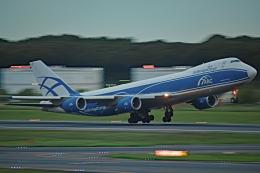 Souma2005さんが、成田国際空港で撮影したエアブリッジ・カーゴ・エアラインズ 747-8HVFの航空フォト(飛行機 写真・画像)