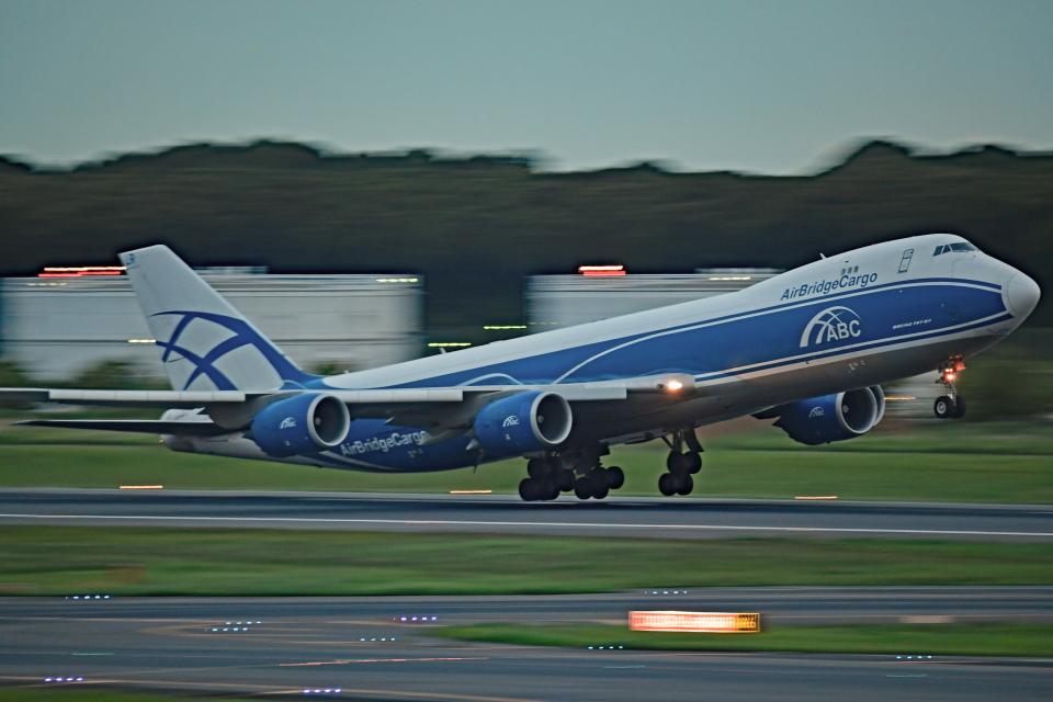 Souma2005さんのエアブリッジ・カーゴ・エアラインズ Boeing 747-8 (VQ-BLR) 航空フォト