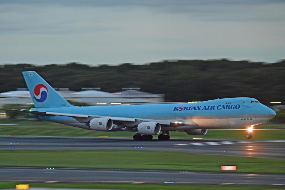 Souma2005さんの大韓航空 Boeing 747-8 (HL7639) 航空フォト