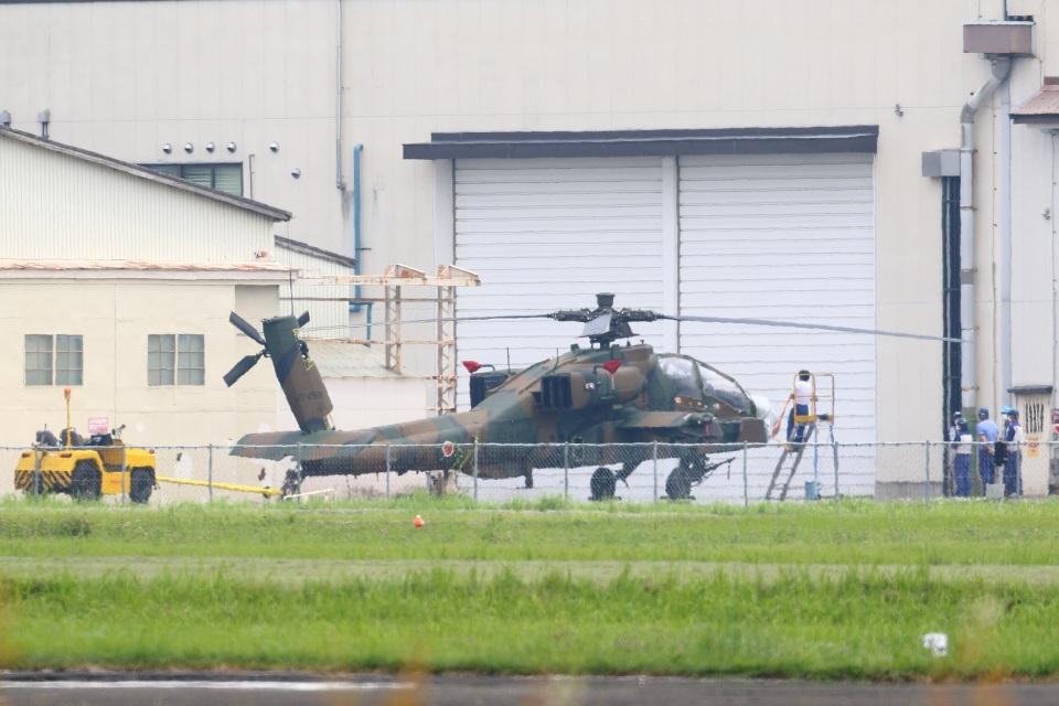 レガシィさんの陸上自衛隊 Fuji AH-64D (74506) 航空フォト