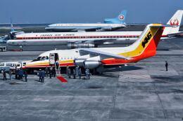 パール大山さんが、羽田空港で撮影したブリティッシュ・エアロスペース BAe-146-100の航空フォト(飛行機 写真・画像)