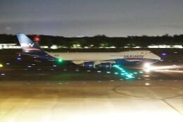 OMAさんが、成田国際空港で撮影したシルクウェイ・ウェスト・エアラインズ 747-83QFの航空フォト(飛行機 写真・画像)